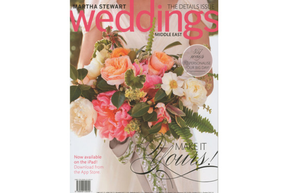 Martha Stewart Weddings Middle East