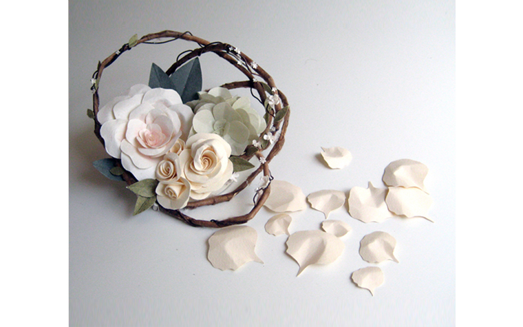 Cake Toppers With Flowers : Paper Flower Cake Topper concarta